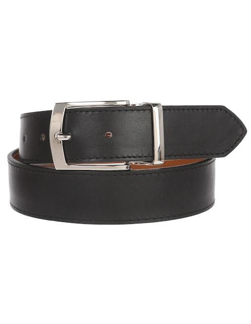 df35768e9 Cinturón JBE piel negro reversible