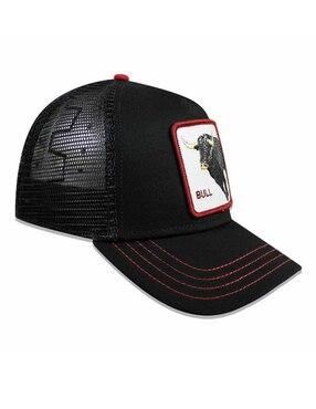 Gorra Goorin Bros negra con diseño gráfico ... 321a2678c76