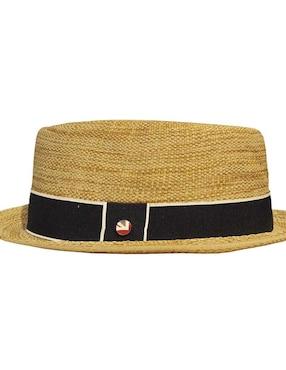 Sombrero Ben Sherman miel trenzado ... ad41bfba3a6