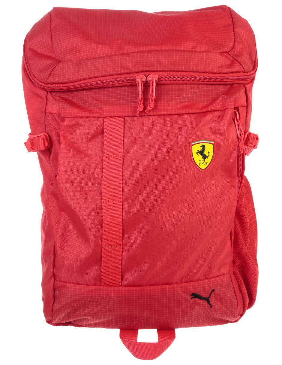 5db758192 Mochila Puma Ferrari roja