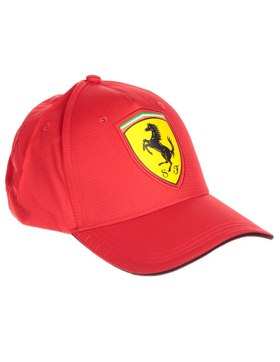 fba3ae745d760 Gorra Ferrari roja