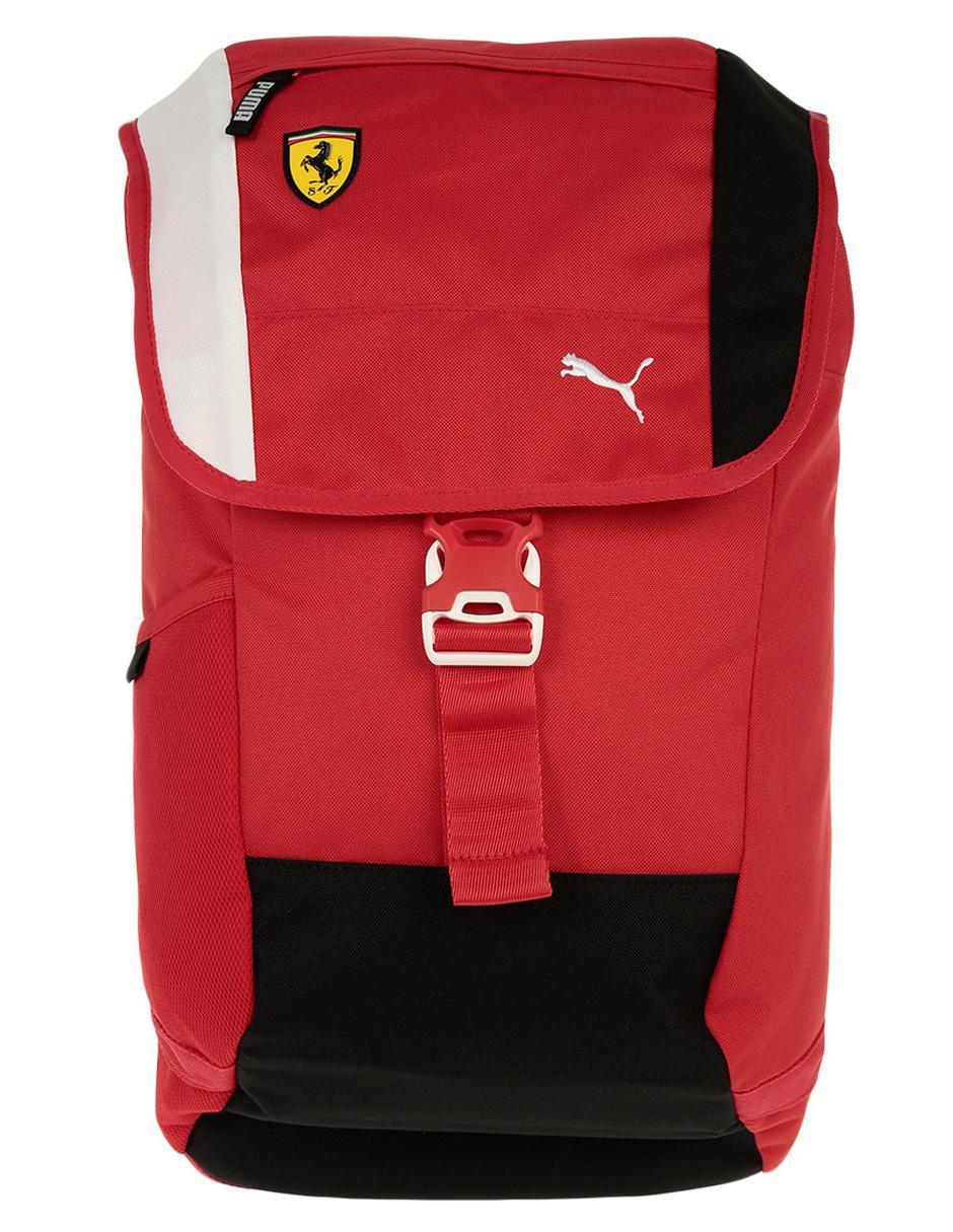 48e887f0a Mochila Puma Ferrari roja Precio Sugerido